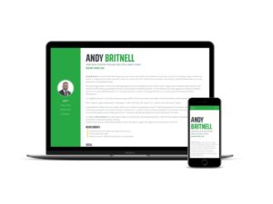 Andy Britnell - Personal profile site