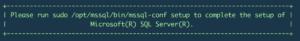 sql_linux_complete_setup