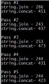 string concat vs string join